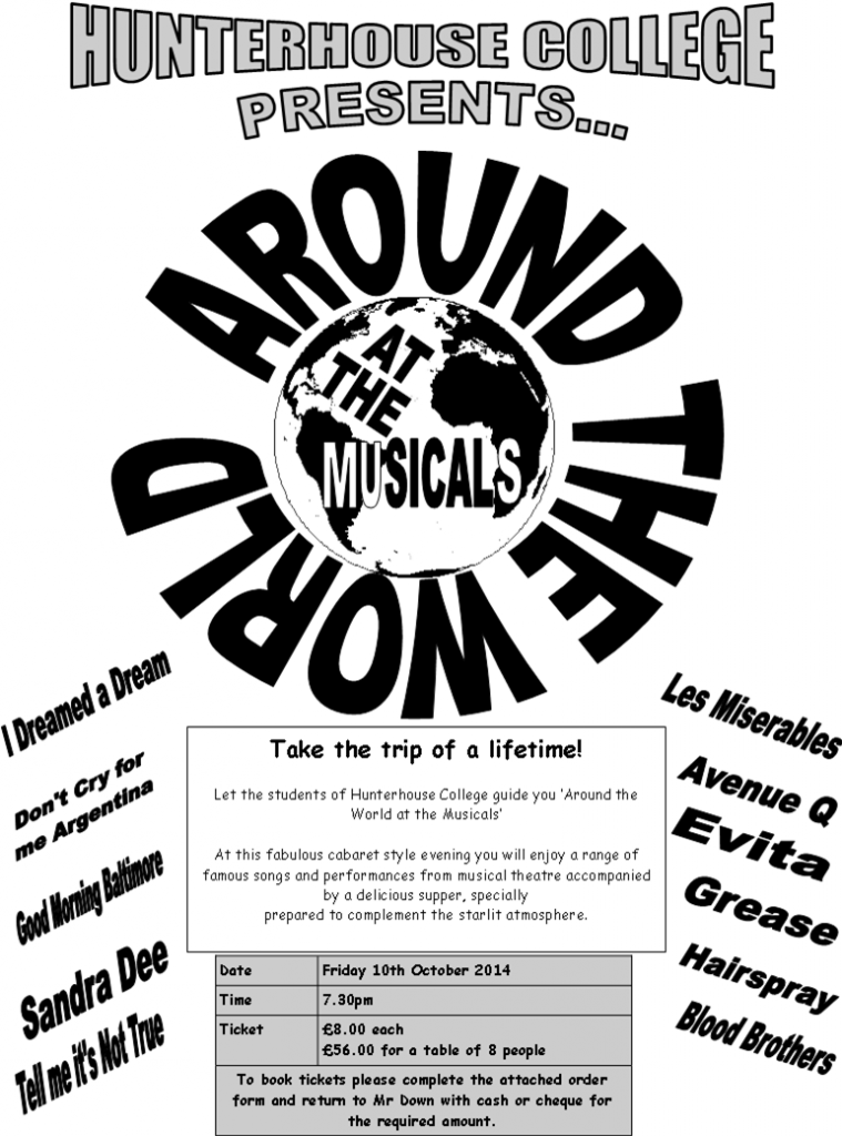 Around the World at the Musicals