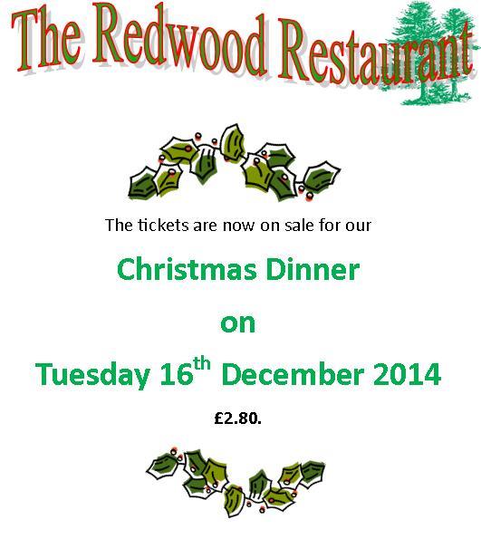 Redwood Xmas Dinner 2014