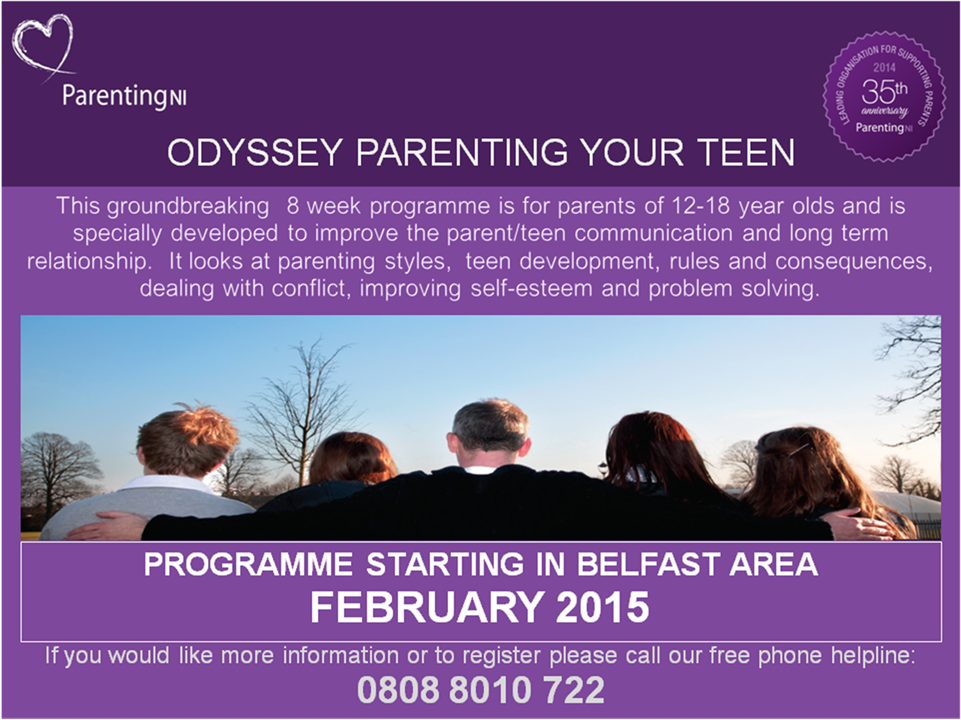 odyessey parenting your teen