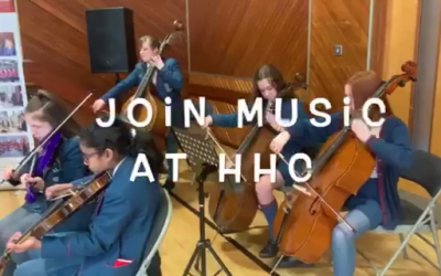 Music at Hunterhouse College