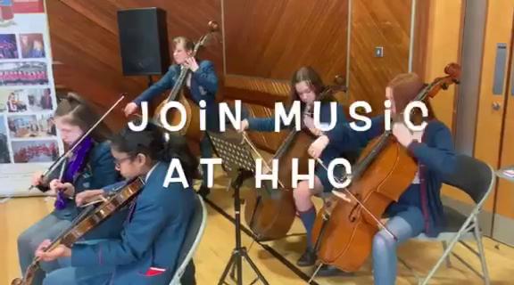 Music at Hunterhouse College