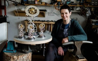 Past Pupil designs the Grand National 2021 winning trophy